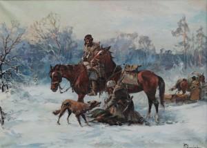 Wł.Chmieliński Na polowaniu